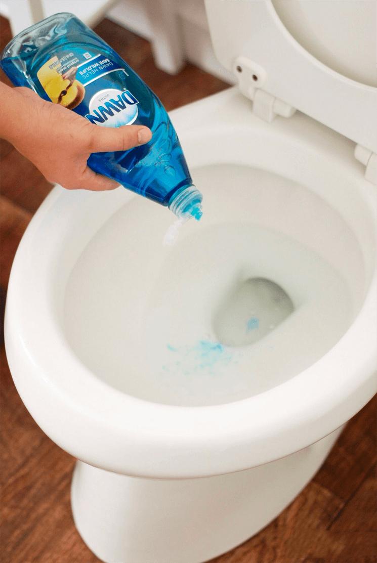 stopp i toalett