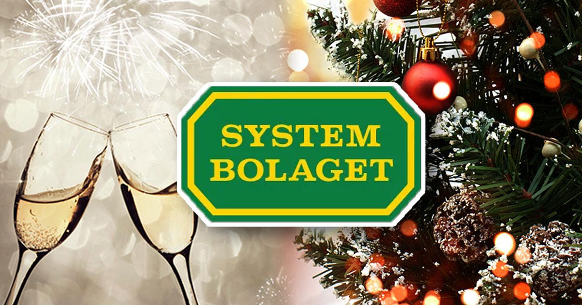 systembolaget öppet julafton