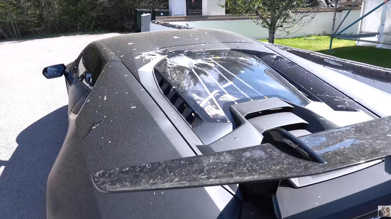 Joakim Lundells Frustration Visar Upp Vandaliserade Lyxbilen Extraextra